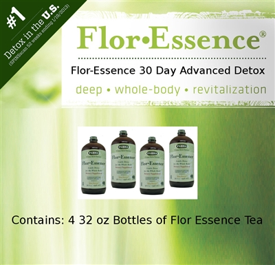 flor essence detox instructions